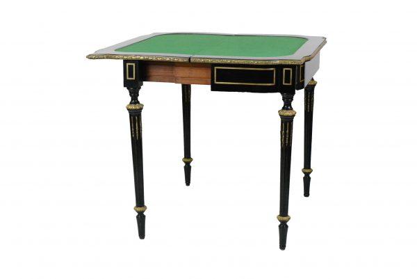 Antikvarinis Napoleon III žaidimų stalelis 19 a.