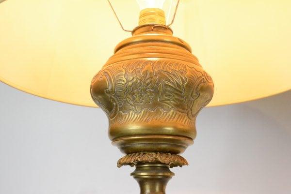 Bronziniai toršerai su marmuro staliukais 19 a. pab.