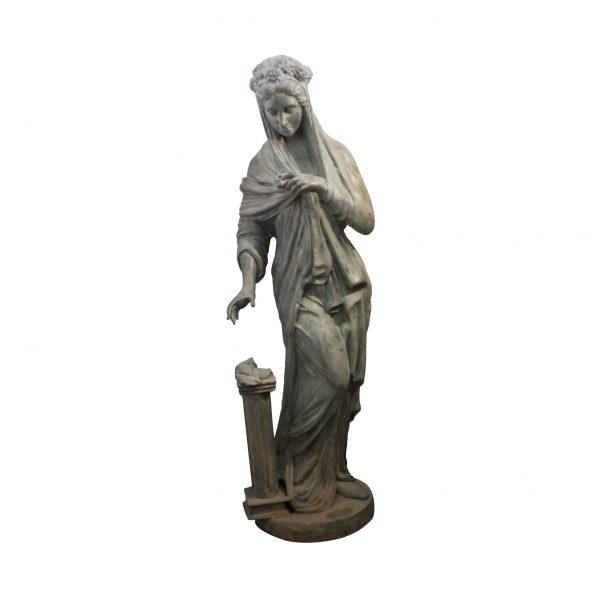 Žalvarinė sodo skulptūra
