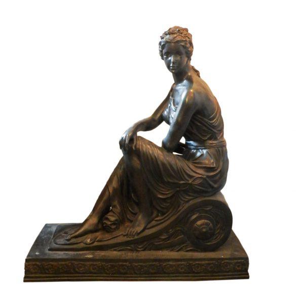 Žalvarinių skulptūrų pora