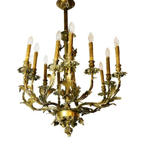 Liudviko XV stiliaus šviestuvas