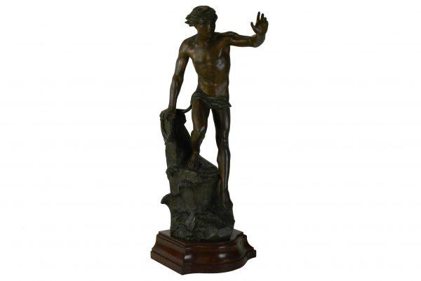 Ch. Perron alavinė skulptūra