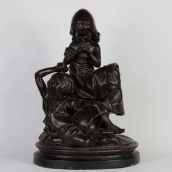 R.U. Deponirt terakotos skulptūra