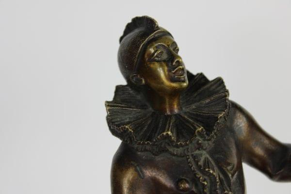 """Bronzinė skulptūra """"Arlekinas"""""""