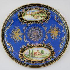 Gallu porceliano padėklas