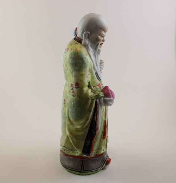 Shao Lao porceliano skulptūra