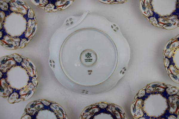 Rosenthal porcelianinių desertinių lėkščių komplektas