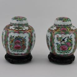 Kiniškos porceliano vazelės