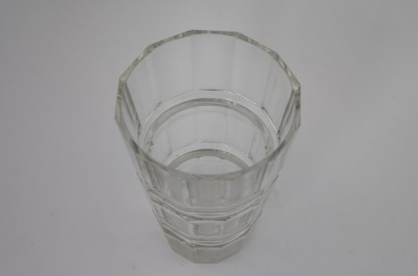 Art Deco stiliaus  krištolo vaza