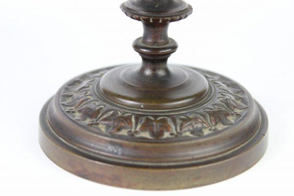 Antikvarinės vardinės bronzinės lėkštės