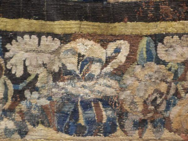 Flamandų XVII a.Verdure gobelenas