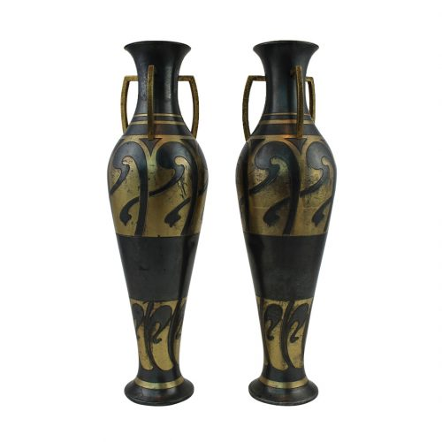 Art Nouveau stiliaus vazos 20 a. pr.