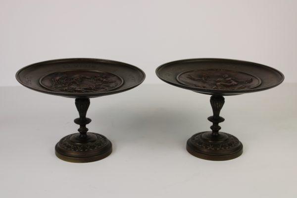 Antikvarines vardines bronzines lekstes