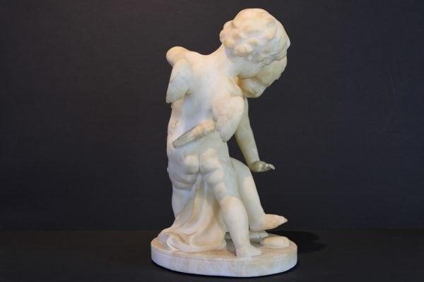 """Guglielmo  Pugi  skulptūra """"Žaidžiantys kupidonai"""""""