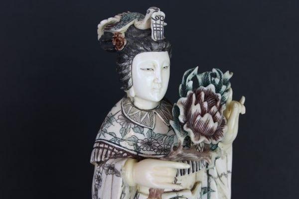 Antikvarinių kinietiškų  skulptūrų pora