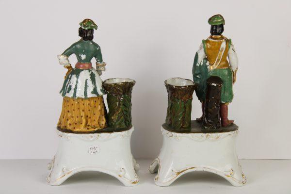 Antikvarinės porceliano figūrėlės