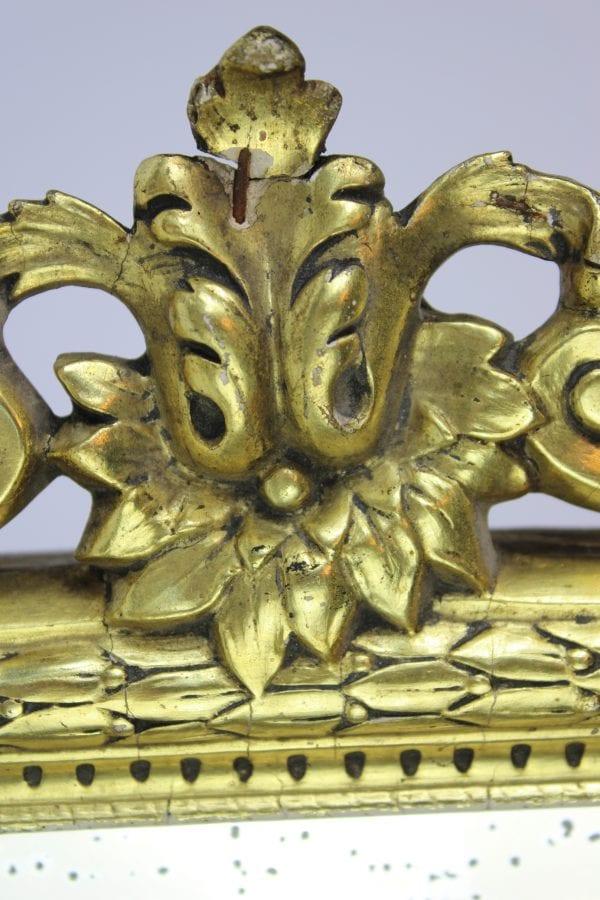 Napoleon III stiliaus veidrodis