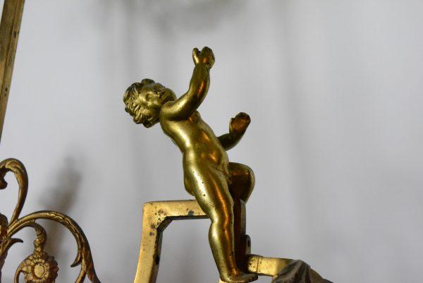 Antikvarinis bronzos sietynas 19 a. pab.