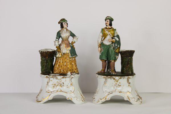 Antikvarines porcelianinės figureles