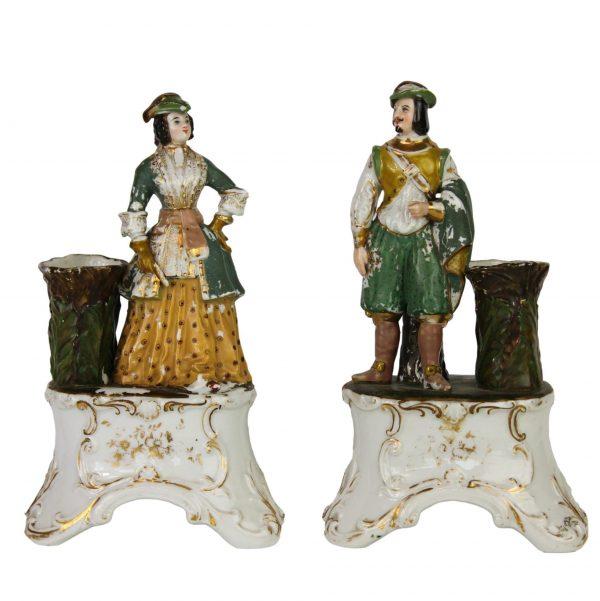 Antikvarinės porcelianinės figūrėlės