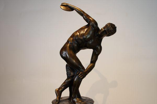 """Skulptūra """"Disko metikas"""""""