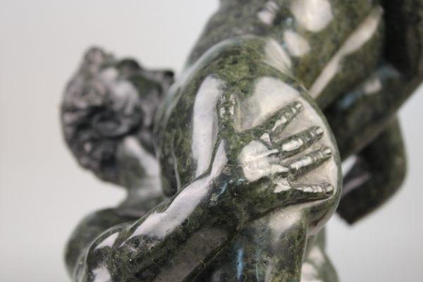 """Antikvarinė skulptūra """"Sabiniečių pagrobimas"""" 19a."""