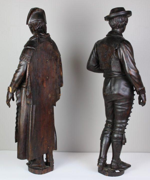 Medinės antikvarinės skulptūros