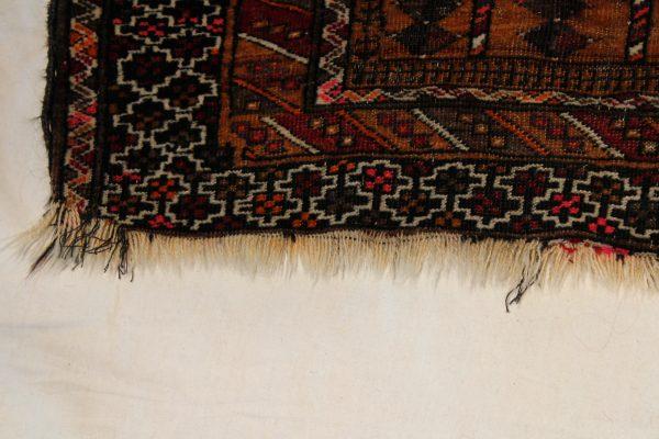 Rankų darbo Afghan kilimas 110 x 183 cm