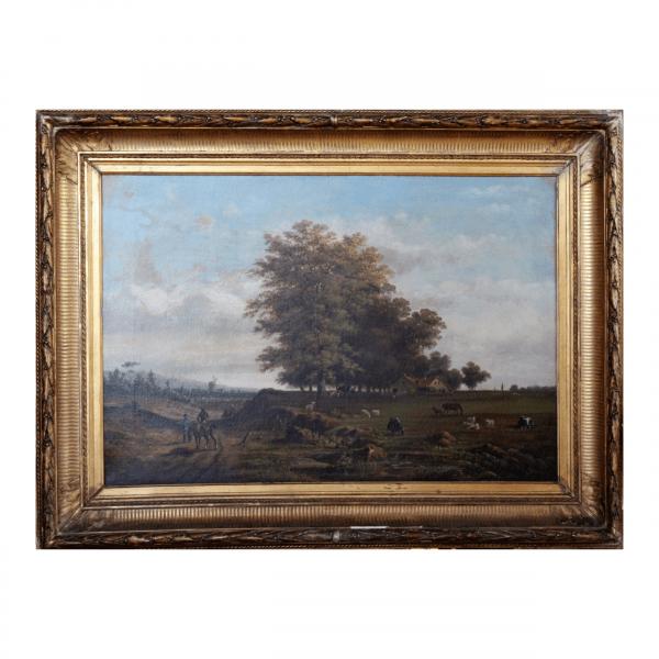 Antikvarinis Henri Knip paveikslas19 a. pab.