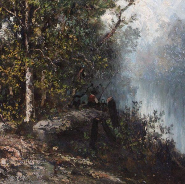 Antikvarinis paveikslas 19 a. pab.