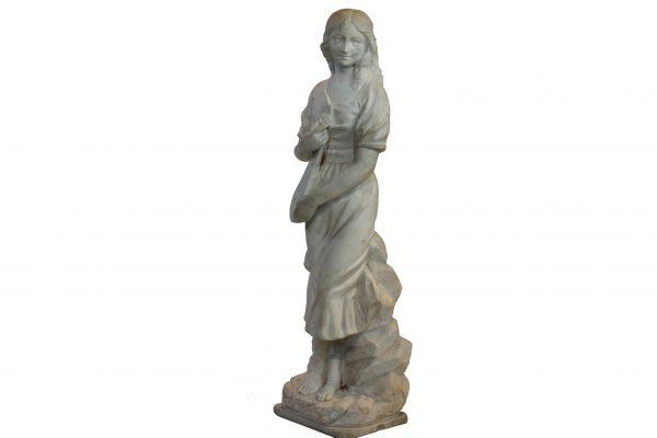 Antikvarinė marmuro skulptūra 19 a. pab.