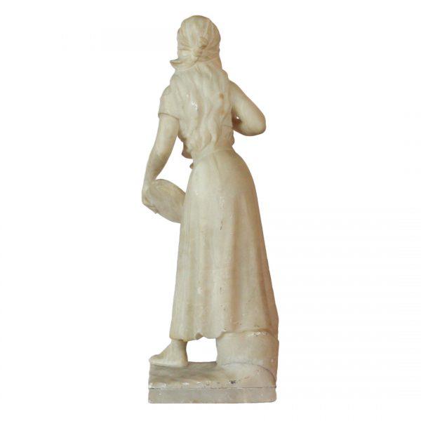 """Emmanuel Villanis skulptūra """"Esmeralda"""" 19 a. pab."""