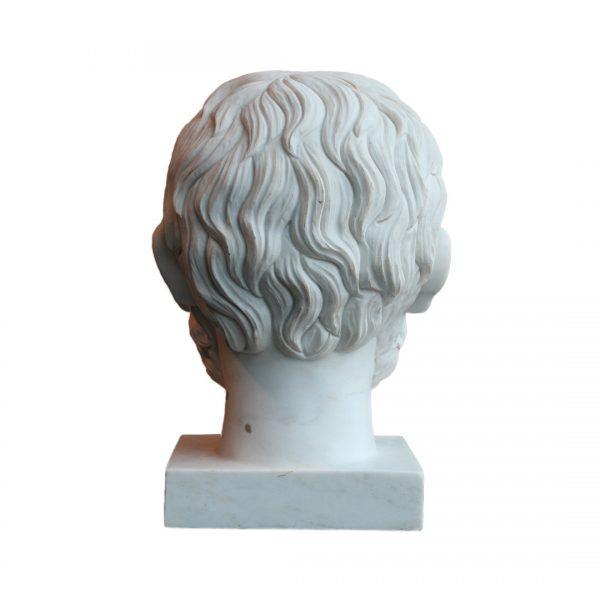 """Marmurinė skulptūra """"Biustas"""" 20 a. vid."""