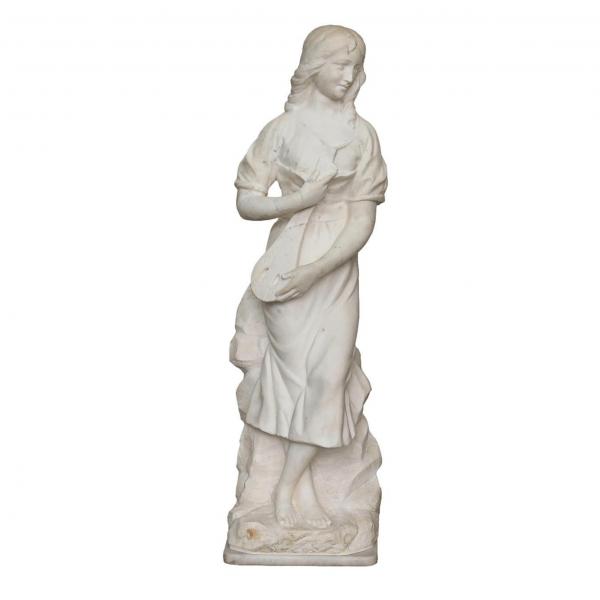 Antikvarinė marmuro skulptūra