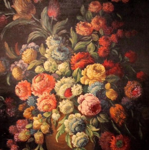 """Antikvarinis paveikslas """"Gėlių natiurmortas"""""""