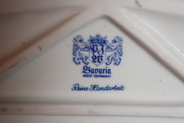 """Porcelianinė figūrėlė """"Bavarijos liūtas"""" 20 a. vid."""