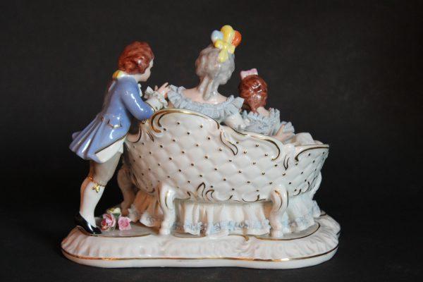 Sandizell Höffner & Co porceliano figūrėlė 20 a. pab.
