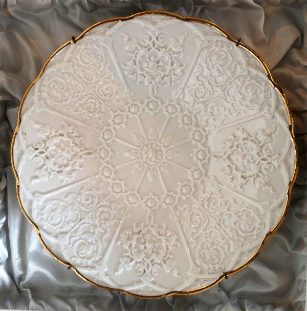 Antikvarinė Meissen porcelianinė lėkštė
