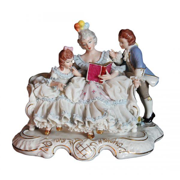 Porceliano figūrėlė 20 a. pab.