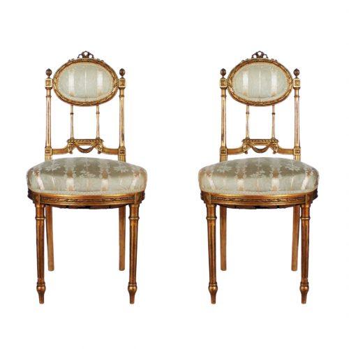 Antikvarinės kėdės 19 a.pab.