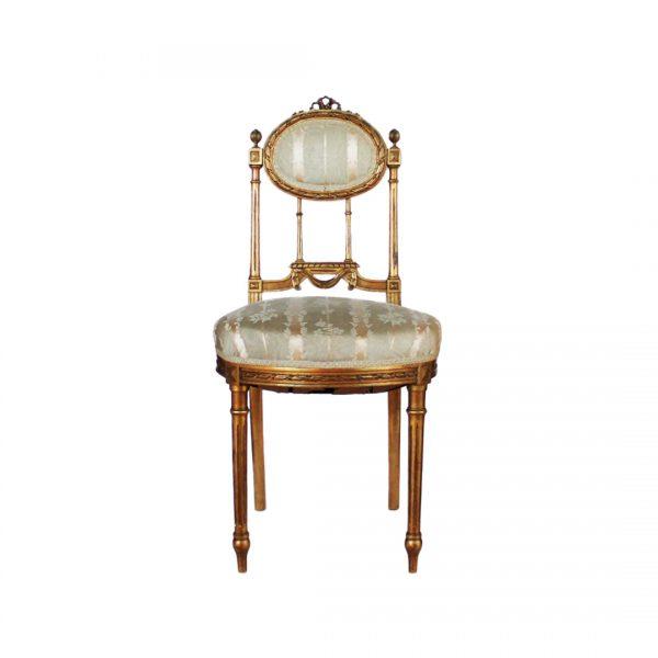 Antikvarinės Liudviko XVI-ojo stiliaus kėdės 19 a. pab.