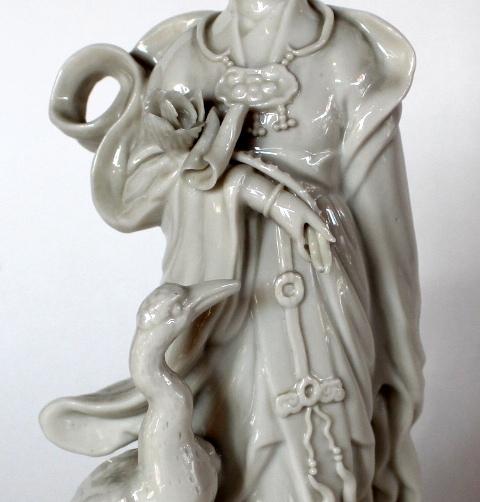 "Baltojo kiniško porceliano skulptūra ""Guanyin"" 20 a. pr."