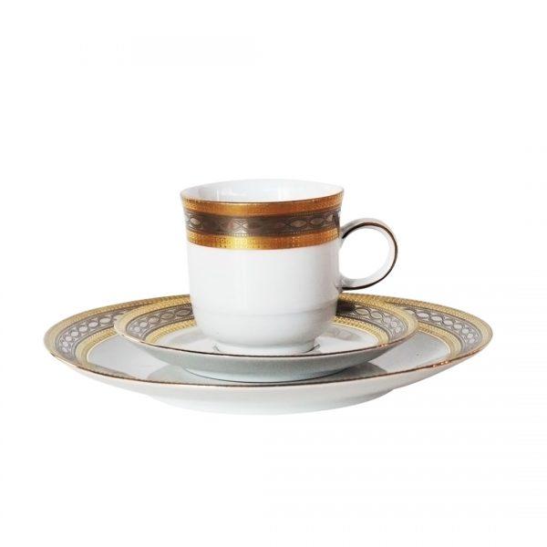 Tirschenreuth porcelianinis kavos ir arbatos servizas 20 a. vid.