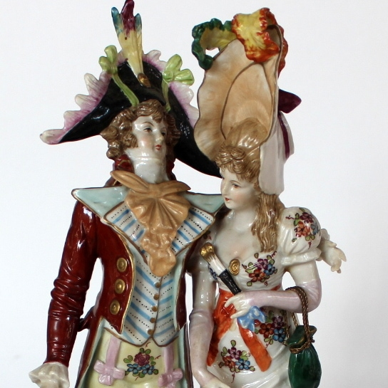 Unterweissbach porcelianinė figūrėlė 20 a. vid.