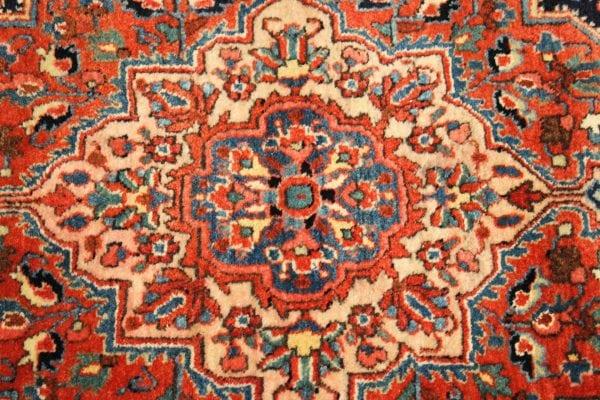Rankų darbo Bakhtiari Antik vilnonis kilimas 200 x 136