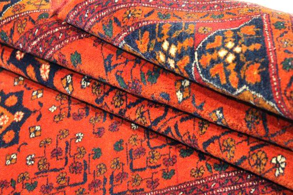 Rankų darbo Afghan vilnonis kilimas 210 x 140