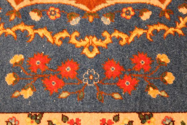 Vilnonis rankų darbo Kerman kilimas 204 x 141
