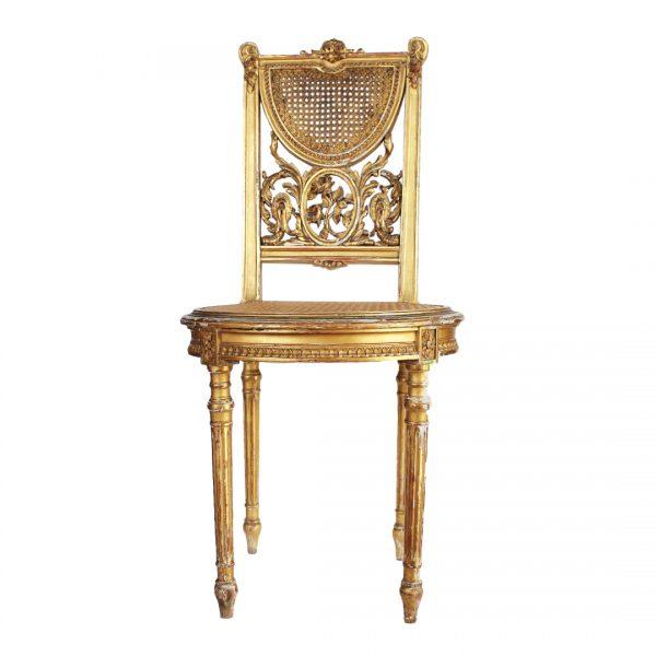 Antikvarinė Liudviko XVI-ojo stiliaus kėdė