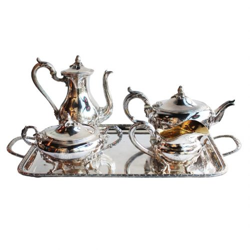 Christofle arbatos ir kavos servizas 20 a. vid.
