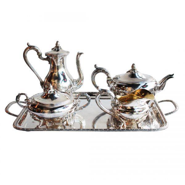 Pasidabruotas Christofle arbatos ir kavos servizas